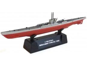 Easy Model - U Boat, Typ IX C, Kriegsmarine, 1942, U-156, 1/700