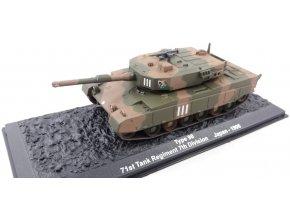 Altaya - Type 90, 7. divize, 71. tankový regiment, Japonsko, 1/72 - SLEVA 25%