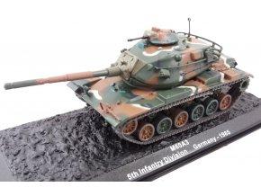 Altaya - M60A3 Patton, US Army, 5. pěší divize, Německo, 1985, 1/72 - SLEVA 25%