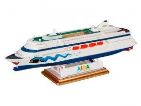 Revell - výletní loď AIDA, ModelSet 65805, 1/1200