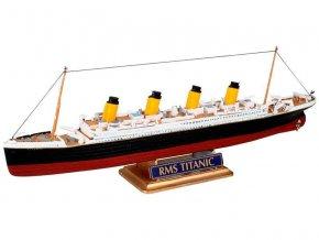 Revell - zaoceánský parník R.M.S. Titanic, ModelSet 65804, 1/1200