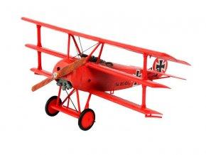 Revell - Fokker DR.1 Triplane, ModelSet 64116, 1/72