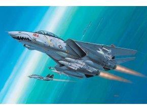 Revell - Grumman F-14 D Super Tomcat, ModelSet 64049, 1/144