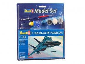 Revell - Grumman F-14 A Tomcat, ModelSet 64029, 1/144