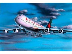 Revell - Boeing 747-200, ModelSet 64210, 1/390