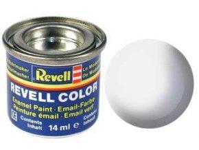 Revell - Barva emailová 14ml - leská bílá (white gloss), 32104