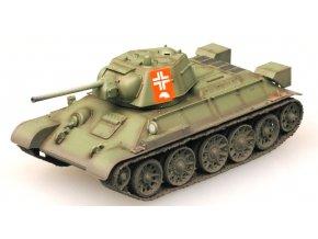 Easy Model - tank T-34/76, německá kořistní kamufláž, 1/72