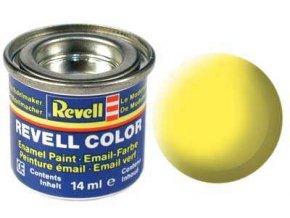 Revell - Barva emailová 14ml - č. 15 matná žlutá (yellow mat), 32115