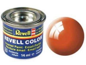 Revell - Barva emailová 14ml - č. 30 lesklá oranžová (orange gloss), 32130