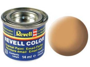 Revell - Barva emailová 14ml - matná tělová (flesh mat), 32135