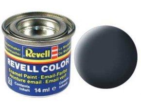 Revell - Barva emailová 14ml - č. 79 matná šedavě modrá (greyish blue mat), 32179
