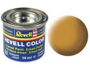 Revell - Barva emailová 14ml - č. 88 matná okrově hnědá (ochre brown mat), 32188