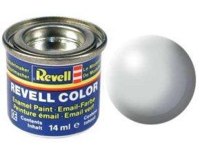 Revell - Barva emailová 14ml - č. 371 hedvábná světle šedá (light grey silk), 32371