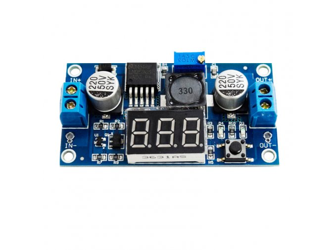 lm2596 step down display
