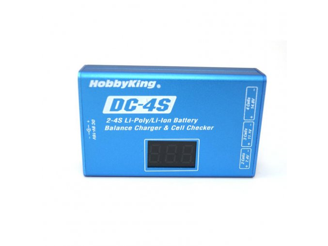hobbyking dc 4s charger