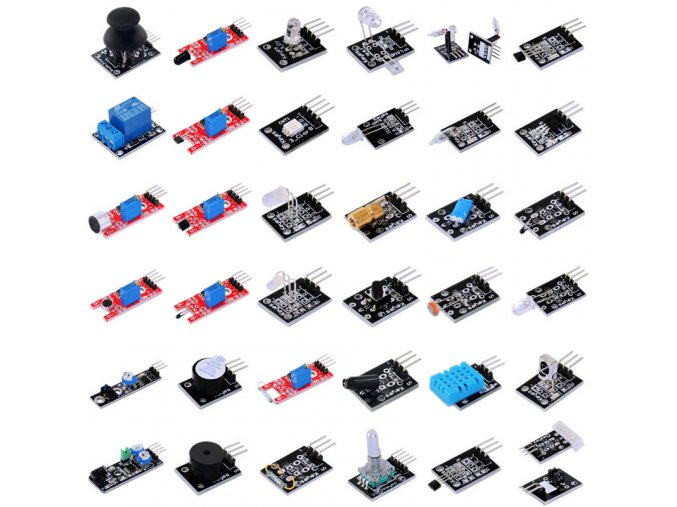 37 in 1 Sensor Starter Kit for Arduino