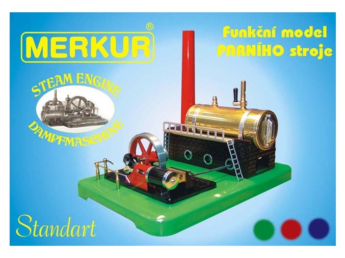 24741 parni stroj funkcni model