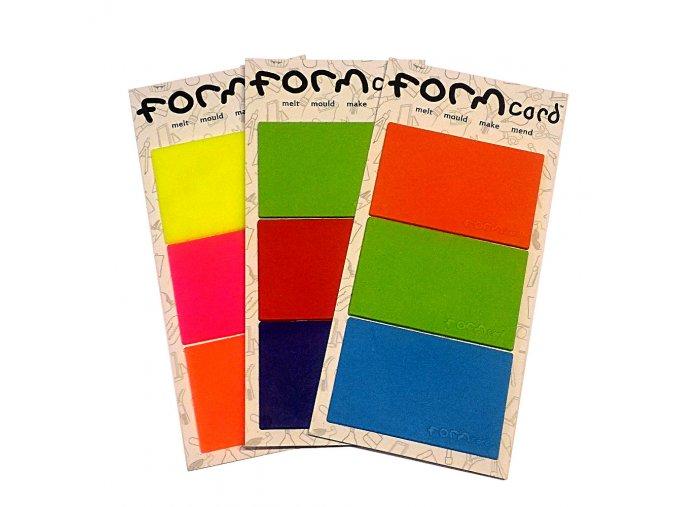 formcard 3 color