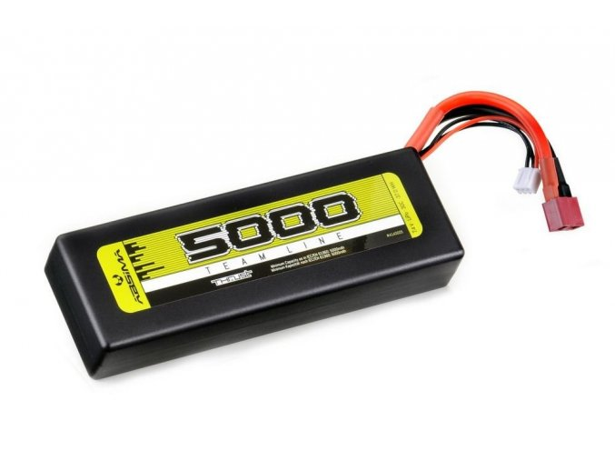 4600 lipo akumulator absima 7 4v 5000mah 30c