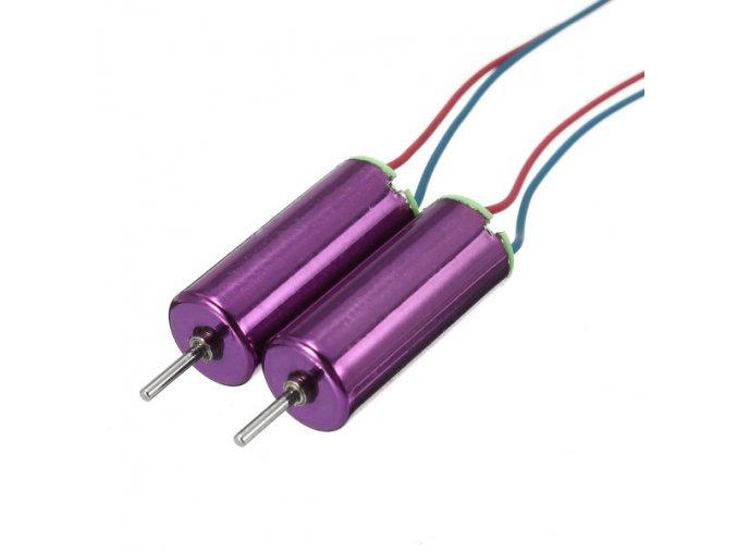 Tiny whoop - Racerstar motor 615 (Barva fialová, Typ 1x CW + 1x CCW)