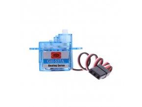 1pc 3 7G Tiny Micro Servo Mini Plastic Gear Analog Servo with Screw Bag for RC[1]