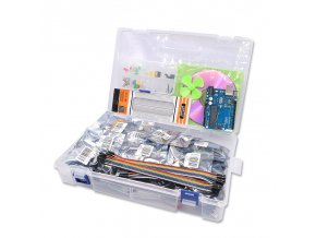 UNO R3 Project Complete Starter Kit including SG90 Joystick Module Ultrasonic Sensor DHT11 ect for Arduino