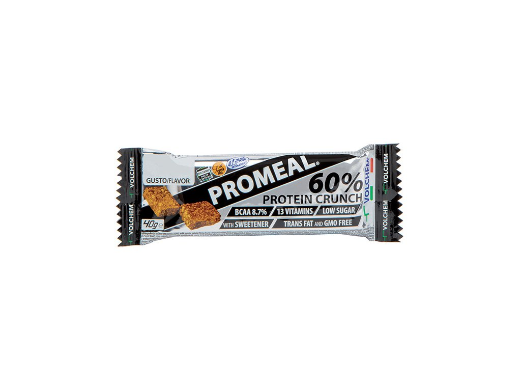 Volchem Promeal Protein Crunch Bar 60 % 40 g