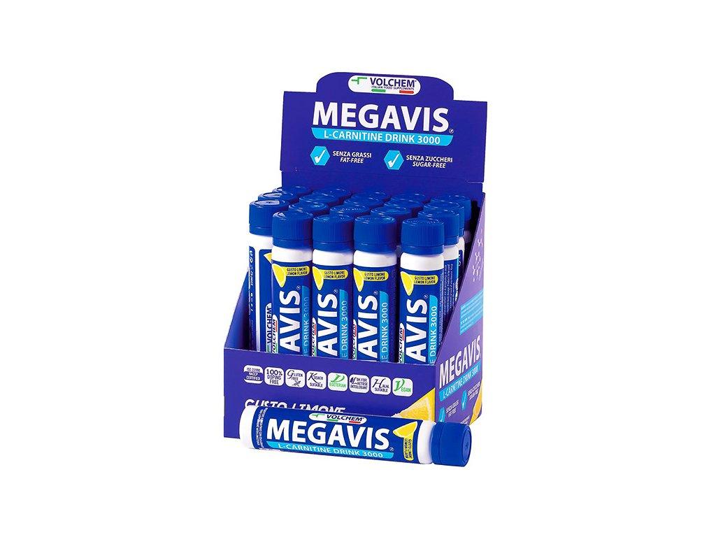 Megavis 25ml lemon web