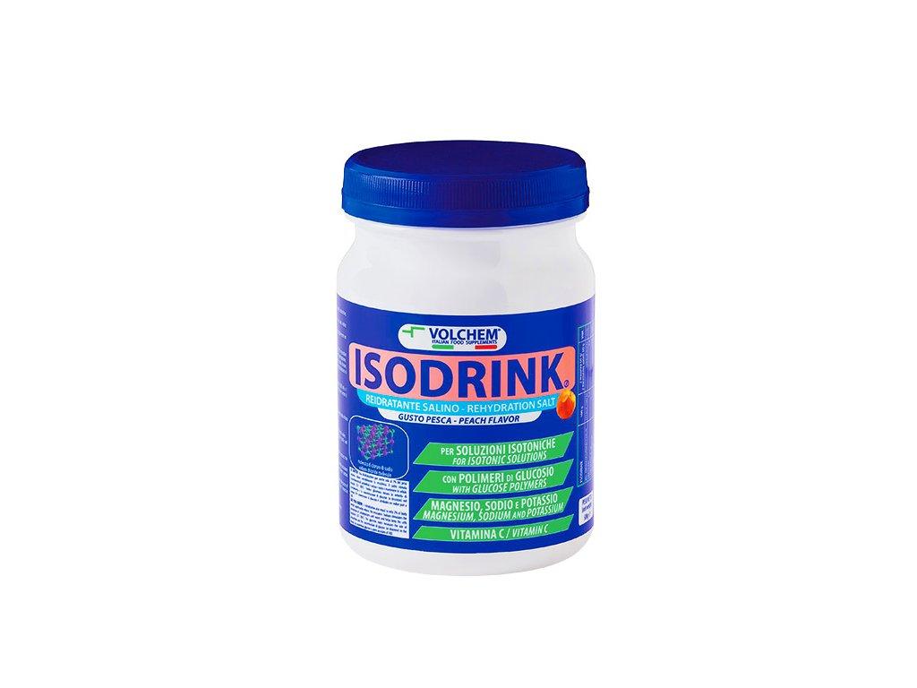 Isodrink 500g peach web