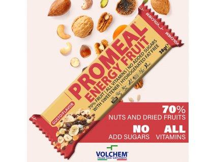 Promeal Energy Fruit 25x38g fruit web