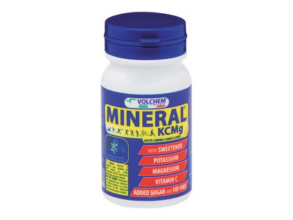 Mineral KCMg 24 cpr lemon
