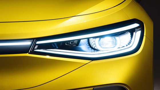 """""""Světlo je nový chrom"""": Světelný design nového modelu ID.4"""