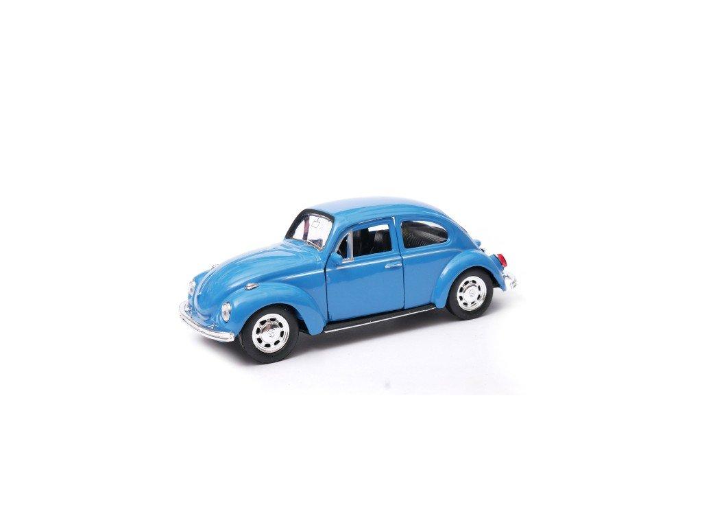 Volkswagen Beetle 1 34 WELLY Garbus niebieski