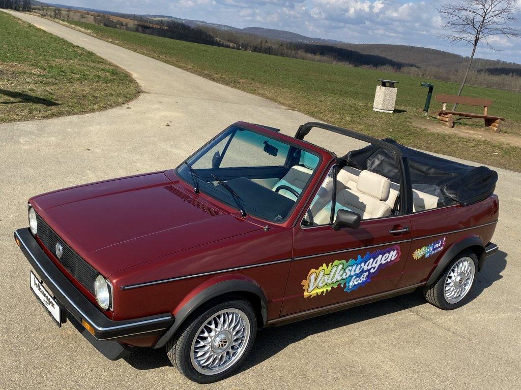 Volkswagen Golf mk1 Cabrio 1:1