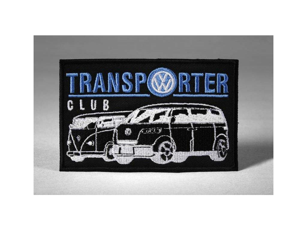 Nášivka Transporter club, černá