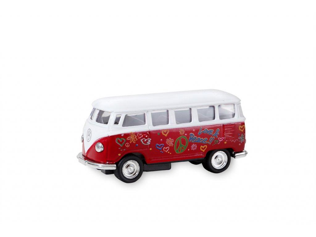 Busík malý hippie červený