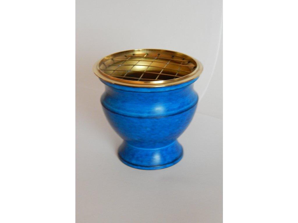 Kadidelnica smaltovaná modrá