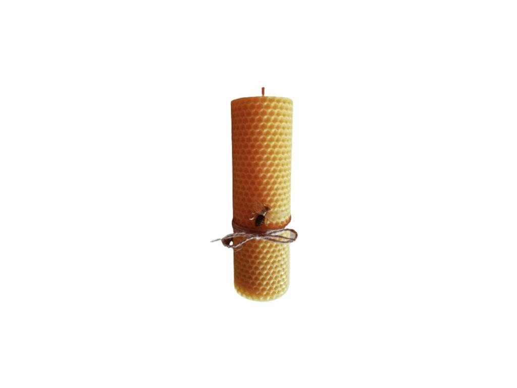 Sviečka zo včelieho vosku