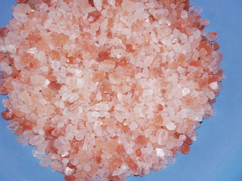Himalájska soľ do kúpeľa