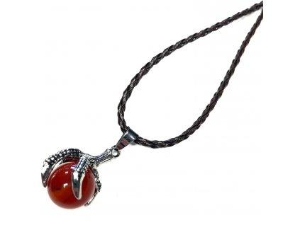 náhrdelník Karneol