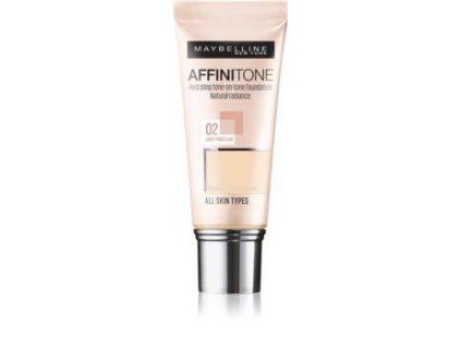 maybelline affinitone hydratacni make up
