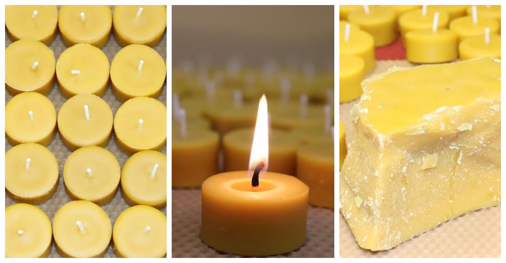 O čajových a dekoratívnych sviečkach