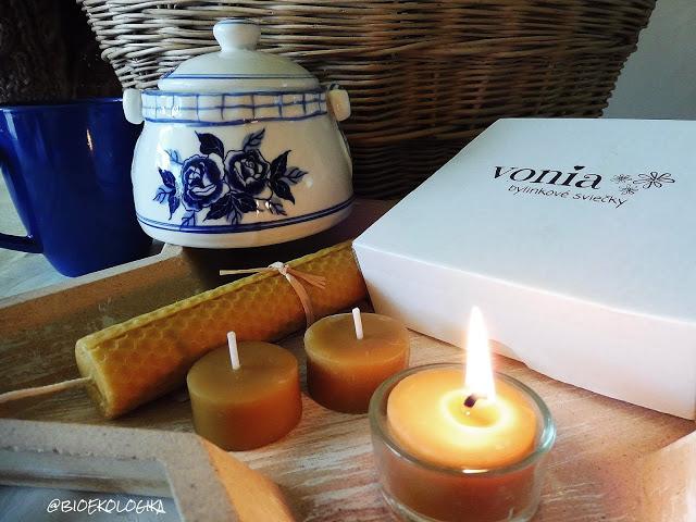 Recenzia: Zero Waste sviečky zo včelieho vosku VONIA