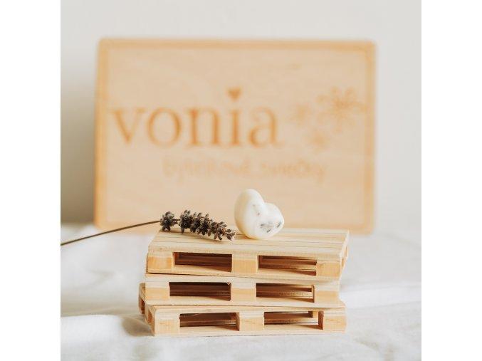 Vonný vosk levanduľa www.Vonia.sk