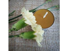 Čajová včelia sviečka 1ks VONIA