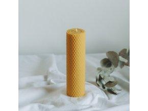 Vosková sviečka 160x40 mm VONIA