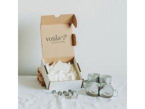 Kreatívna sada sójový vosk www.Vonia.sk