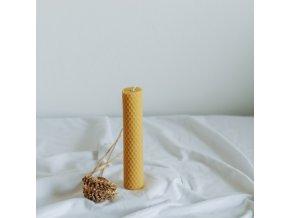 Vosková sviečka 160x30 mm VONIA