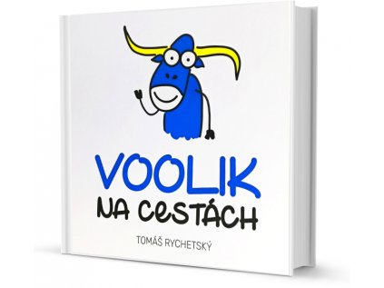 Kniha pro děti Voolik na cestách