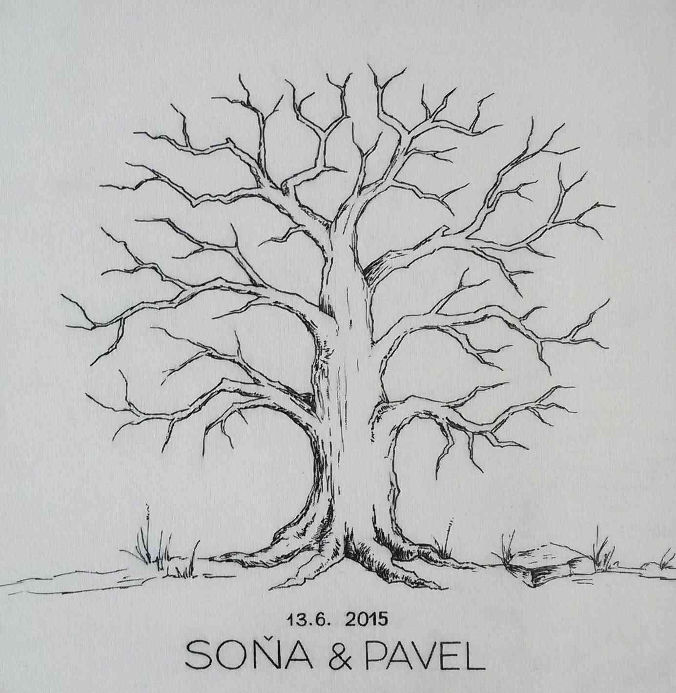 Vše na váš svatební strom